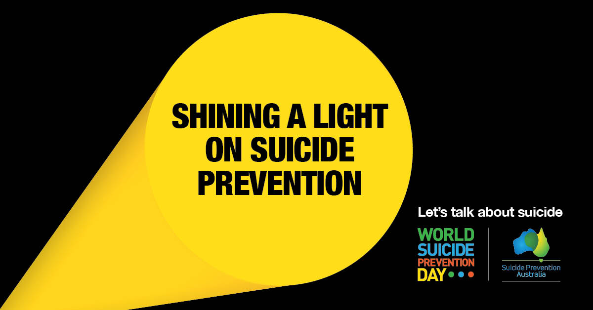 Today is World Suicide Prevention Day