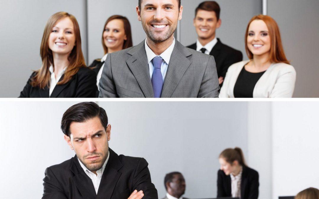 abrasive vs adequate leaders