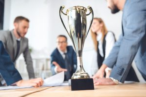 Competitive workplace and passive leadership
